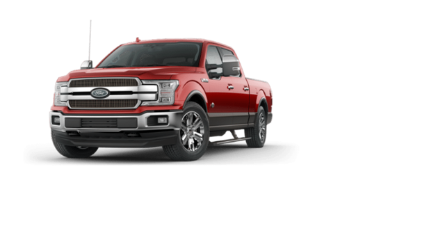 New 2019 Ford F 150 Truck Supercrew Cab King Ranch Ruby Red Metallic